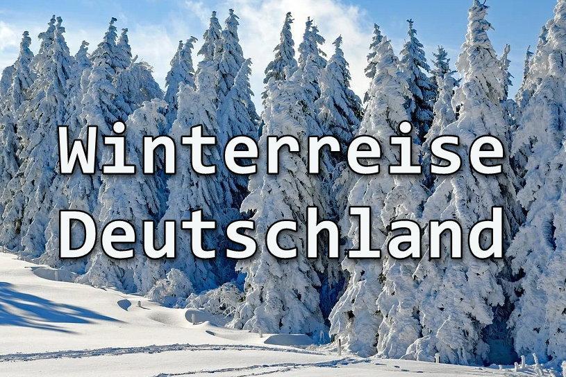 Deutschland Reise und Erholung im Winter in Oberschwaben-Allgäu